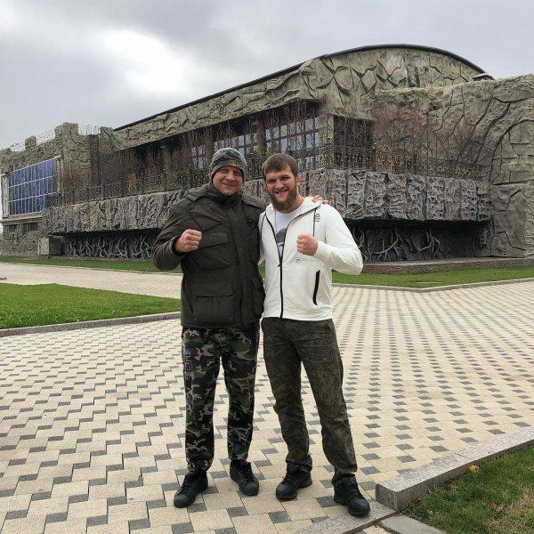 Емельяненко-младший спарринговал с Кадыровым