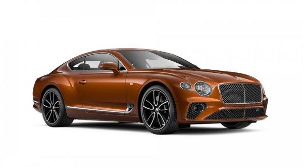 Представлен Bentley Continental GT в версии First Edition