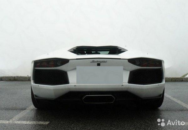 В Пензе за 230 000 рублей продают суперкар Lamborghini Aventador