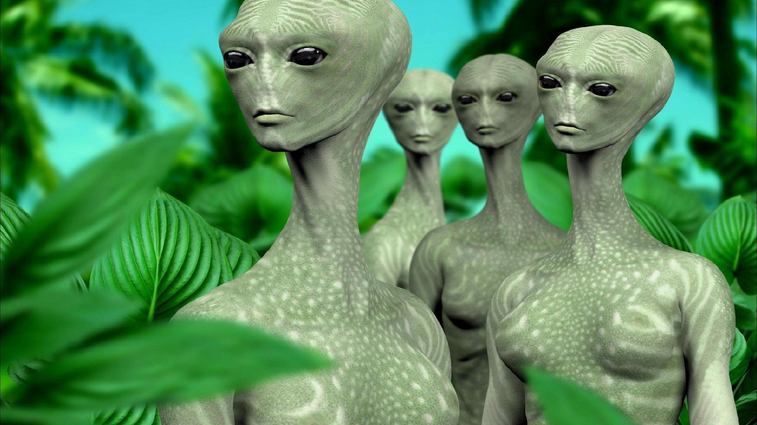 Секс землян с пришельцами