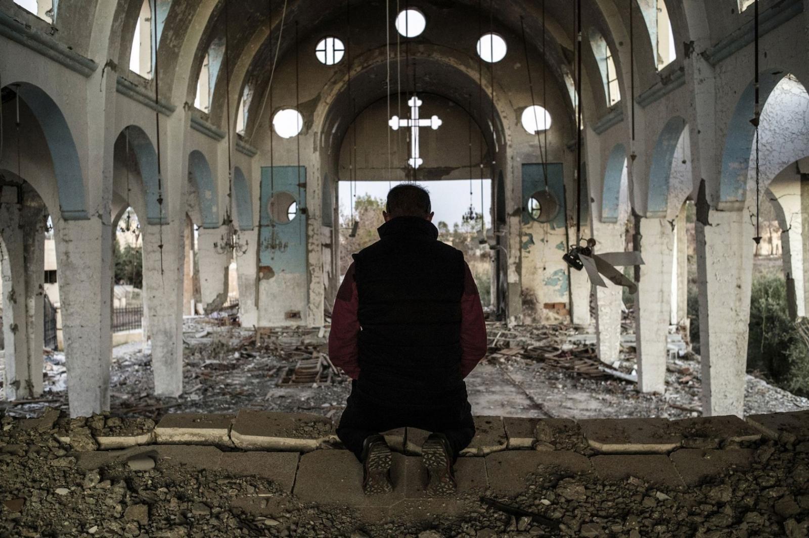 Путин призвал РПЦ посодействовать ввозрождении Сирии