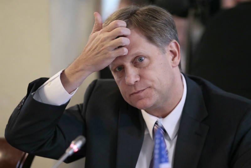 Макфол потребовал отСША объяснений причины ареста русской дипсобственности