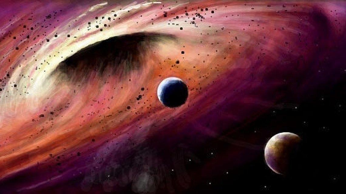 ВГалактике найдена тесная пара немалых чёрных дыр— Астрономы