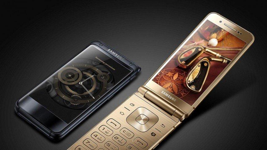 Компания Самсунг представила телефон-раскладушку дороже IPhone X