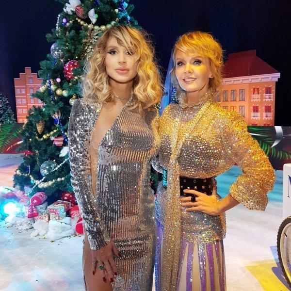 Валерия и Светлана Лобода оделись одинаково на «Песню года-2017»
