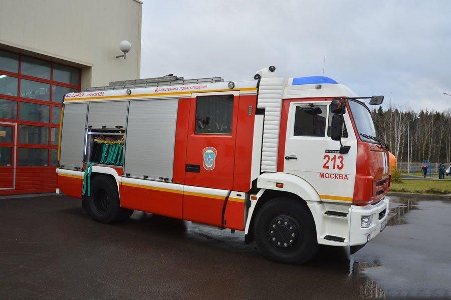 В столице России потушили пожар в25-этажном жилом доме