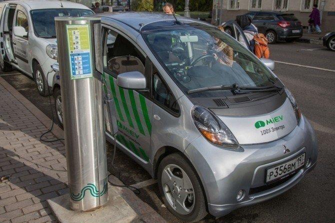 В столице России  иобласти посчитали количество электрокаров