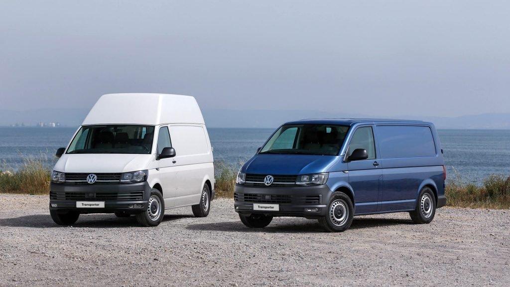 VW заявляет озапуске нового Transporter Kasten AllCity