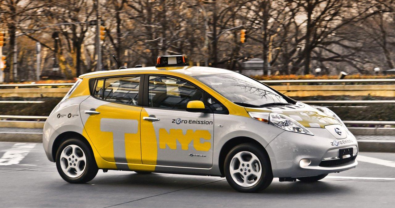 Ниссан весной начнет тестирование беспилотных такси