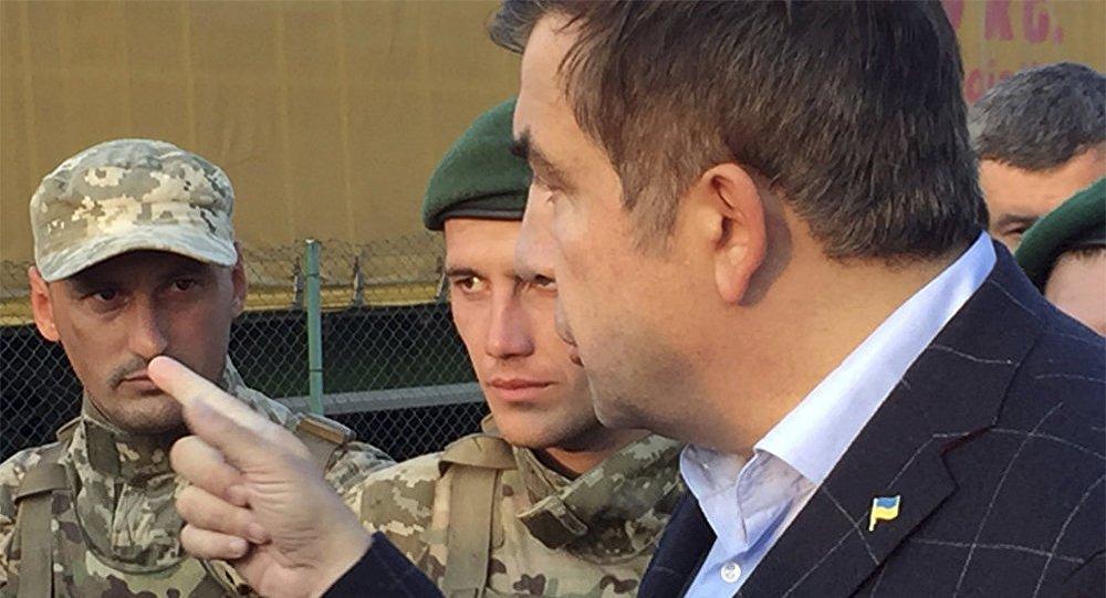 СБУ загнала Саакашвили накрышу дома изадержала