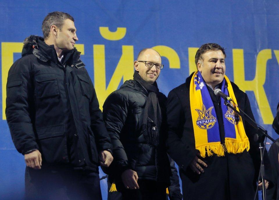 «Положу жизнь засвободу Украины». Саакашвили призвал соратников выйти намайдан