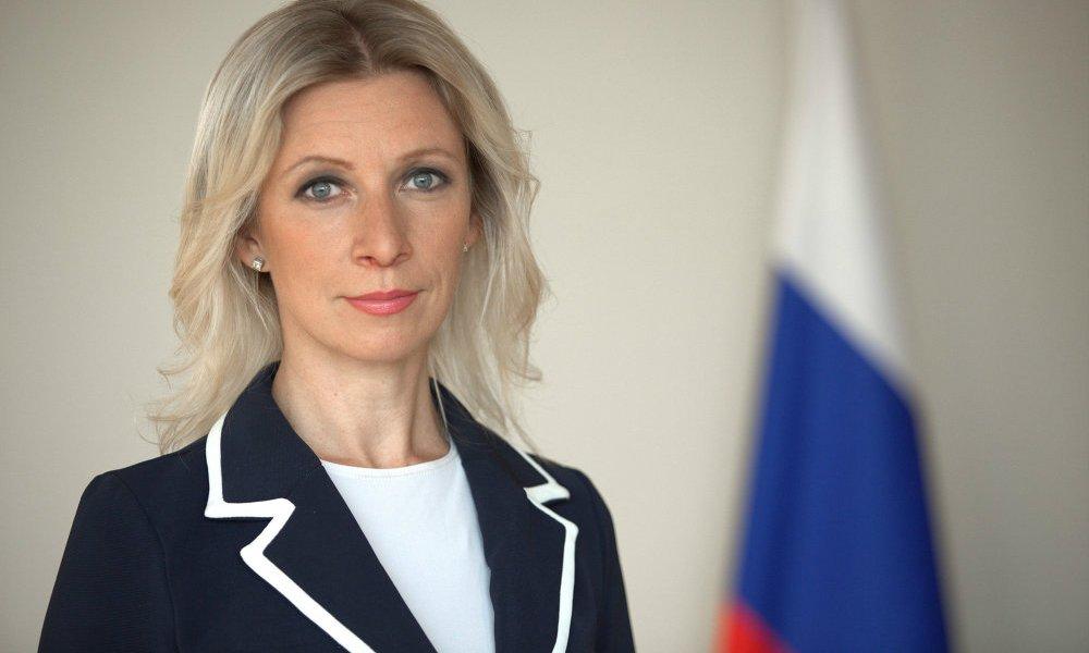 Саакашвили, ребенок иКарлсон: Захарова сочинила историю помотивам событий вКиеве