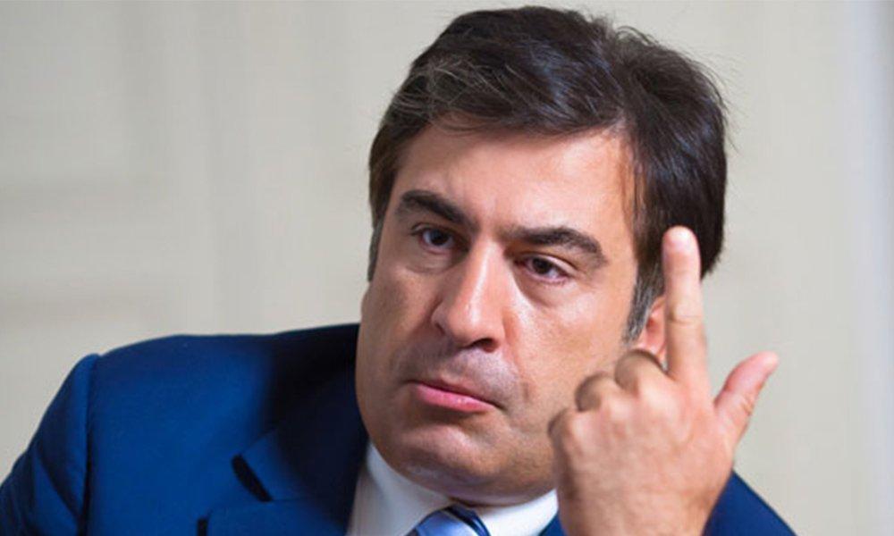 Саакашвили ссобственными любителями отправился кРаде