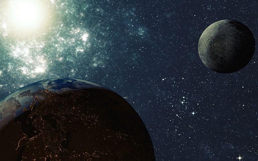 Ученые: Столкновения после образования Луны смогли поменять  старинную  Землю