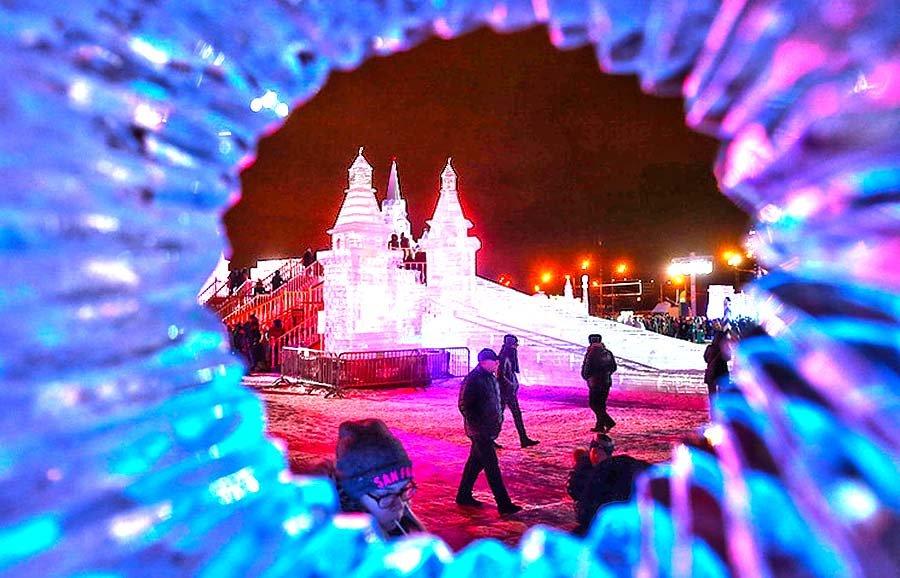 Вконце декабря наПоклонной горе появятся ледяные фигуры