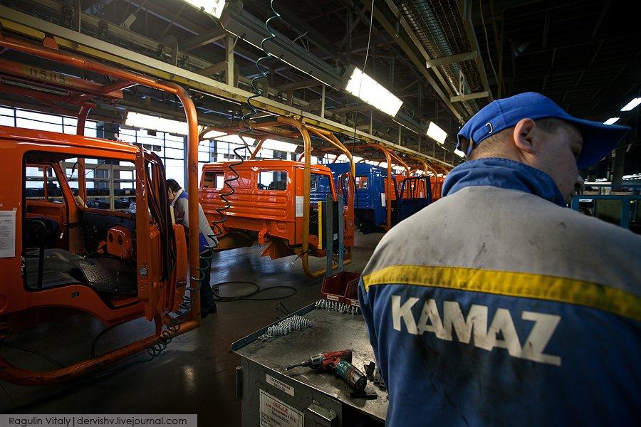 КАМАЗ всамом начале года увеличил производство авто на13%