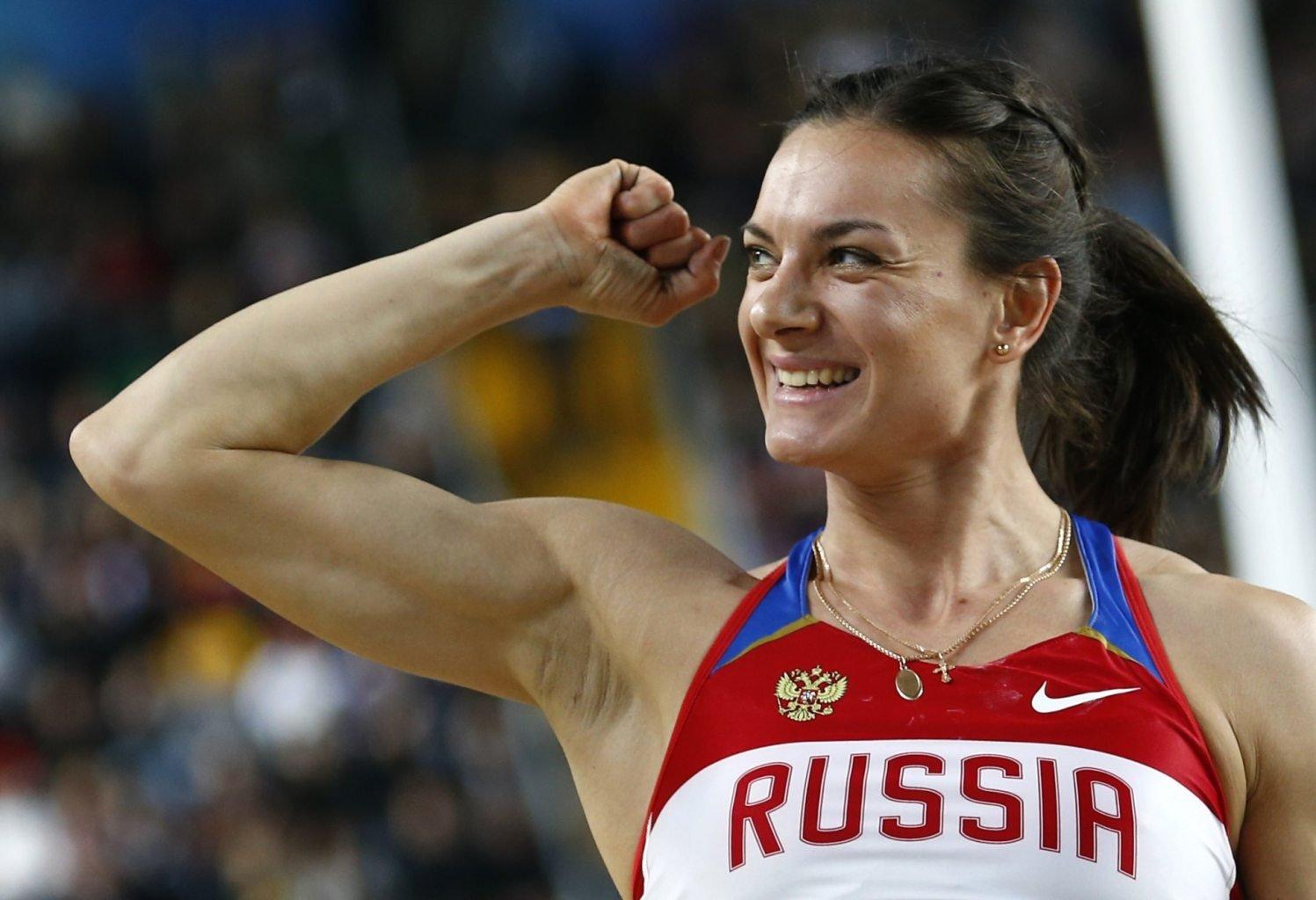 Исинбаева спортсменка в порно со страпоном