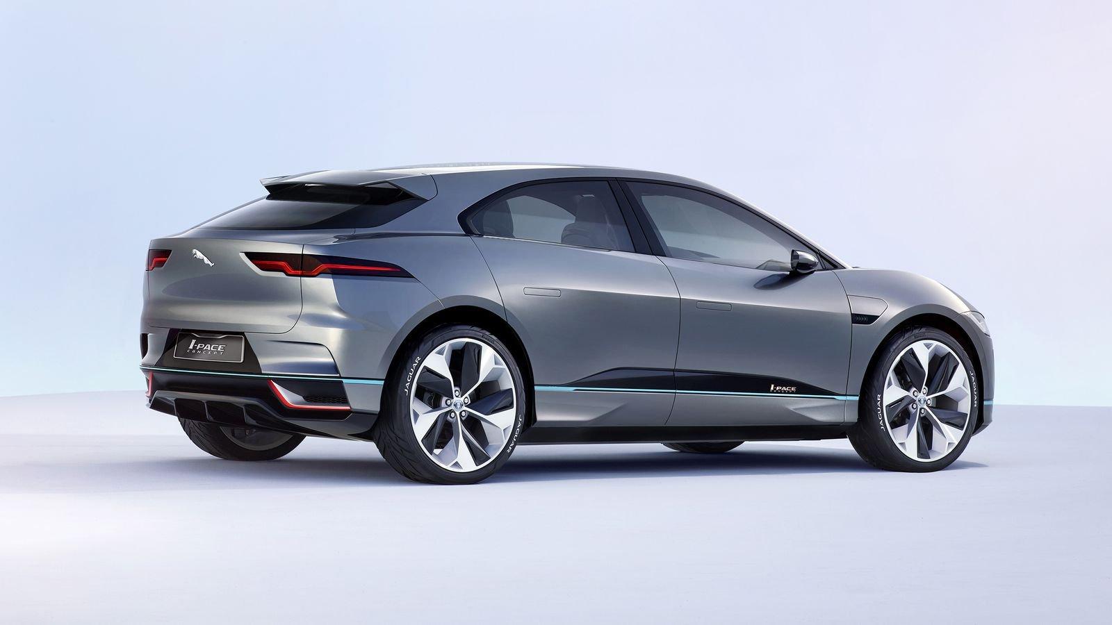Land Rover выпустит электрический кроссовер на базе Jaguar I-Pace