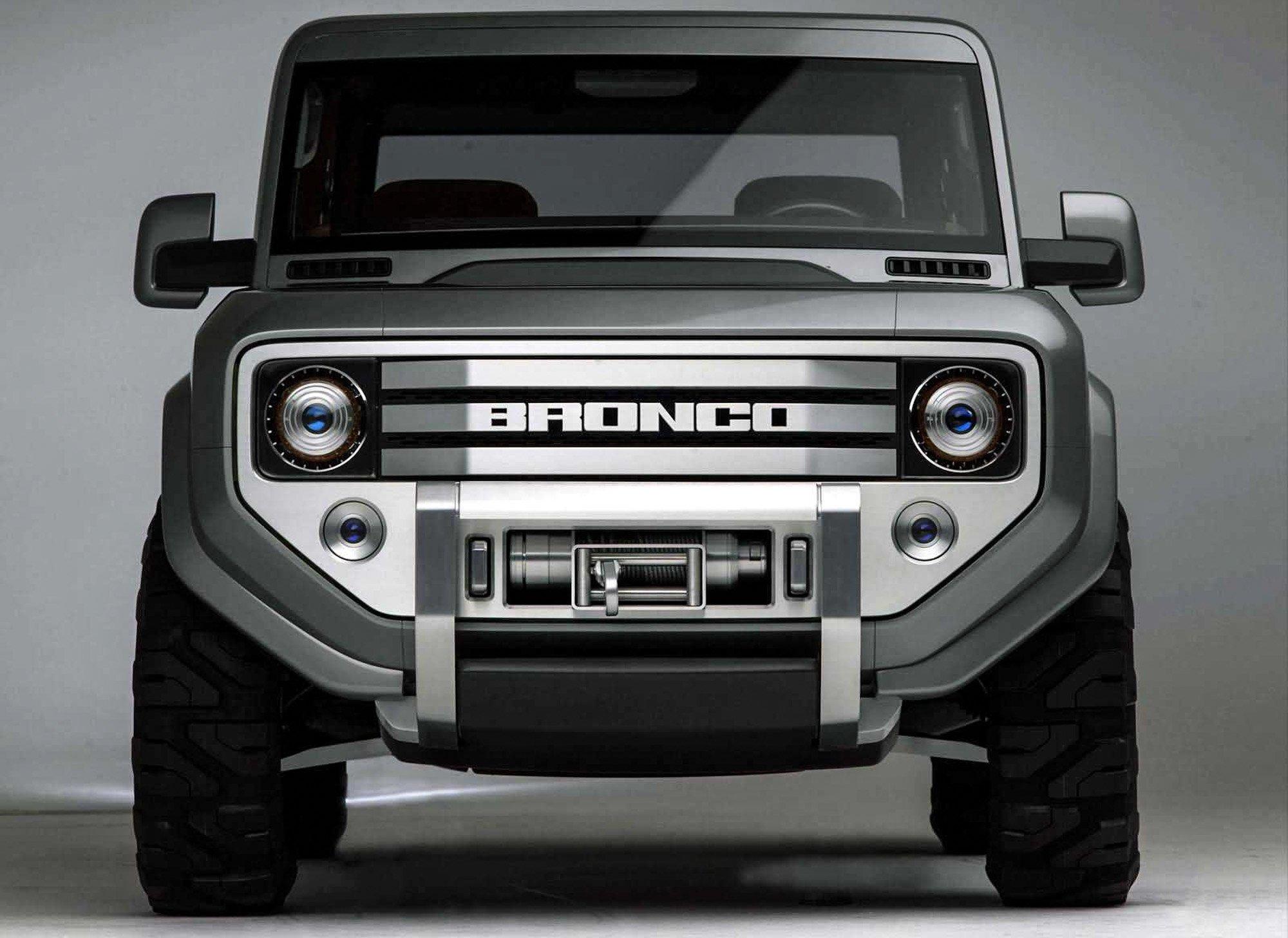 Форд официально объявил овозрождении джипа Bronco к 2020-ому году