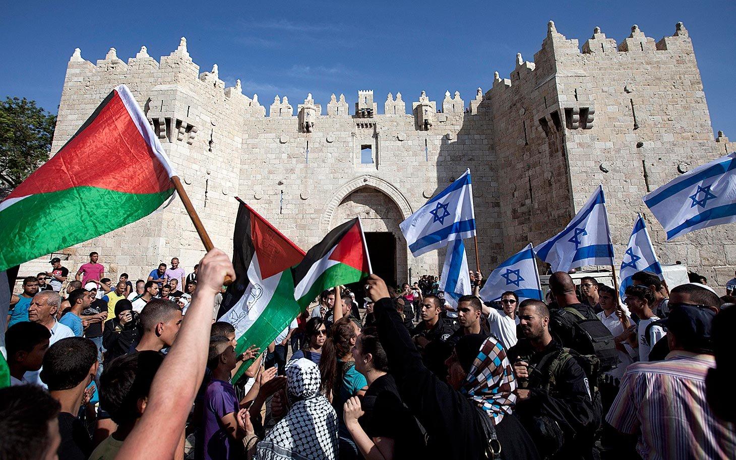 Начались столкновения между палестинцами иизраильтянами наЗападном берегу Иордана