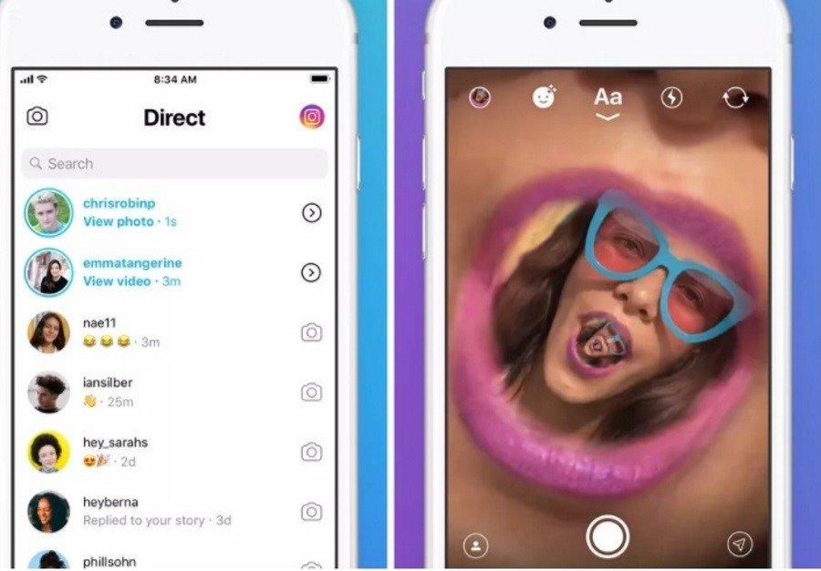 В Instagram скоро появится самостоятельное приложение для отправки сообщений