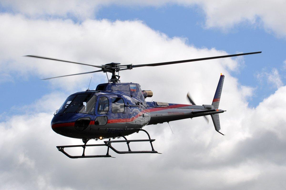 Поиски вертолёта упавшего в Иркутской области остановили до завтрашнего дня
