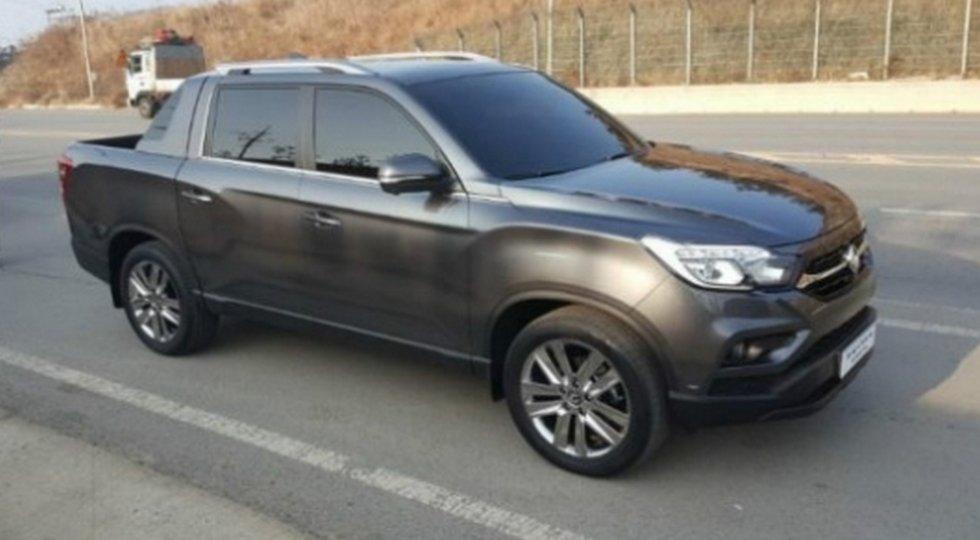 SsangYong рассекретил новый пикап на базе внедорожника Rexton