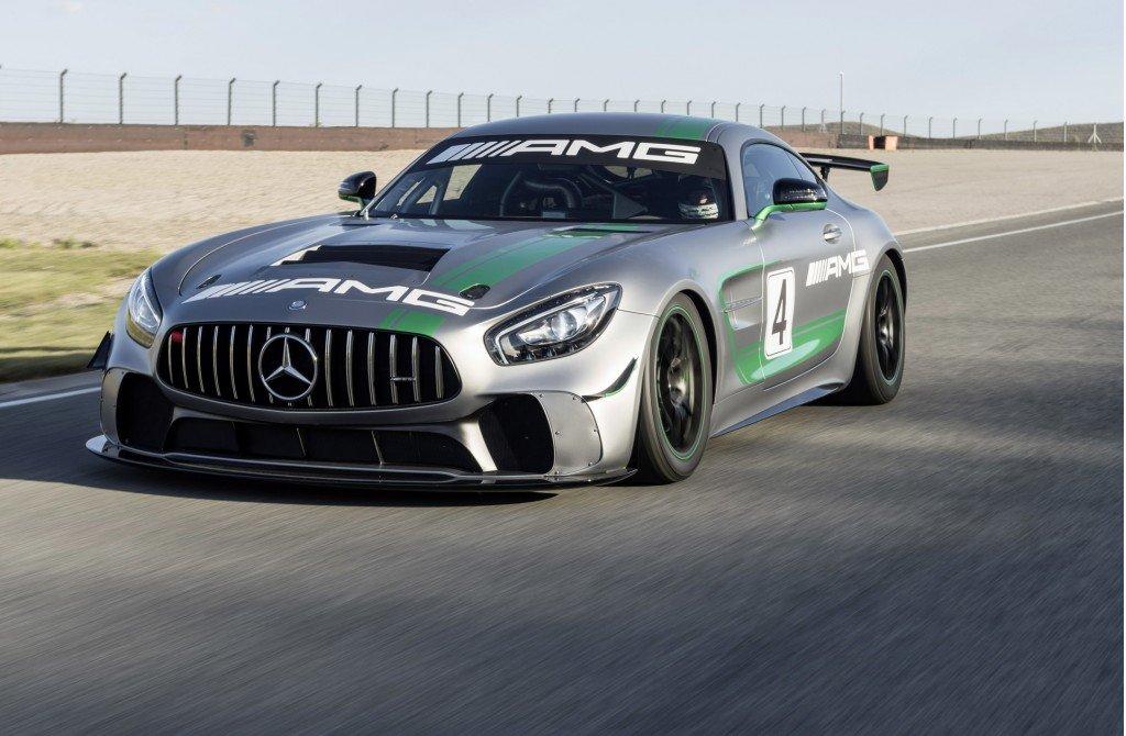 Специалисты испытали новый Mercedes AMG GT4