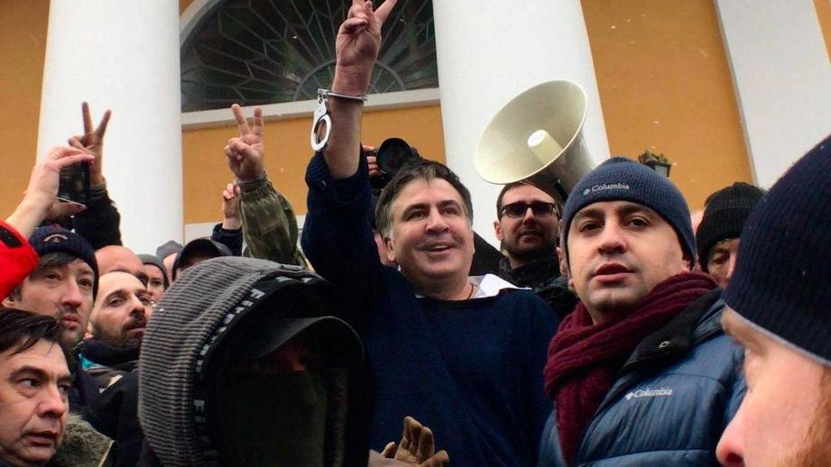 Мать Саакашвили прокомментировала задержание сина вКиеве