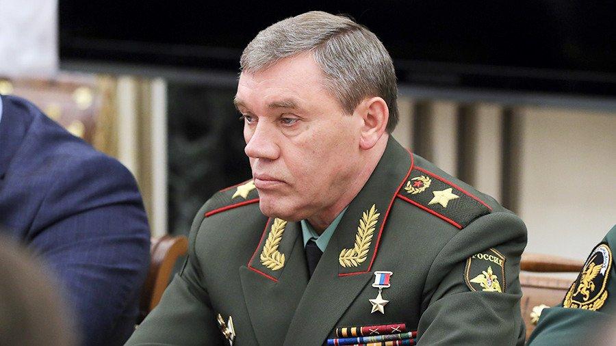 Глава ГенштабаВС РФприбыл вТокио срабочим визитом