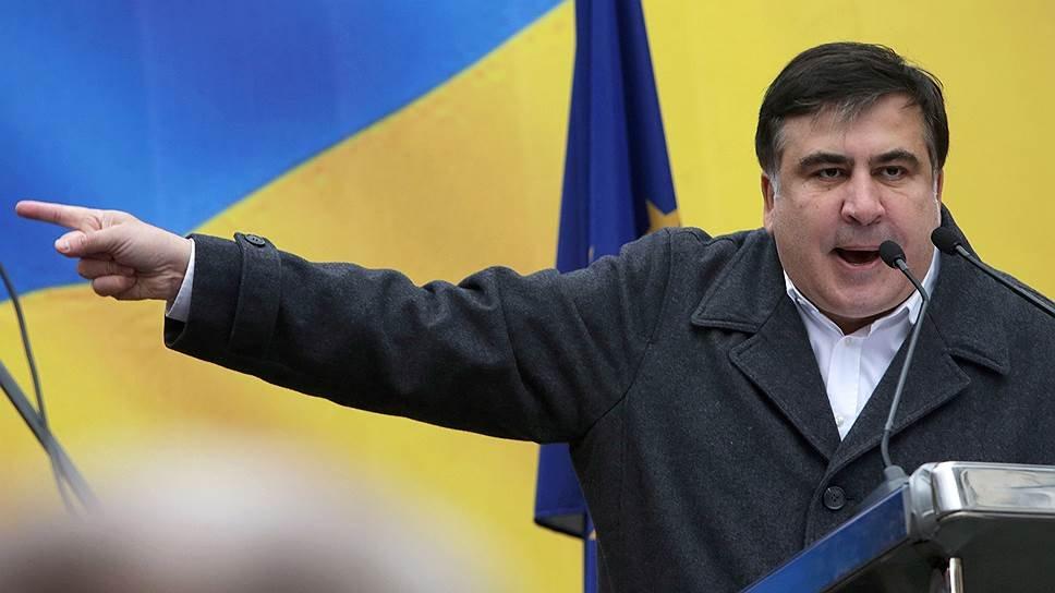 Саакашвили устроил митинг вцентре украинской столицы 11декабря 2017 23:25