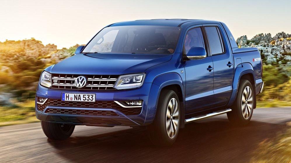 Volkswagen отзывает пикапы Amarok в России из-за утечки масла