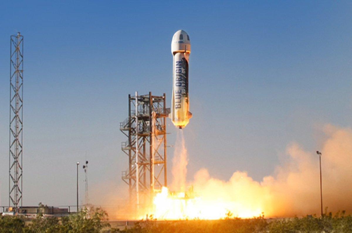 Blue Origin провели испытания многоразовой ракеты-носителя Shepard 3