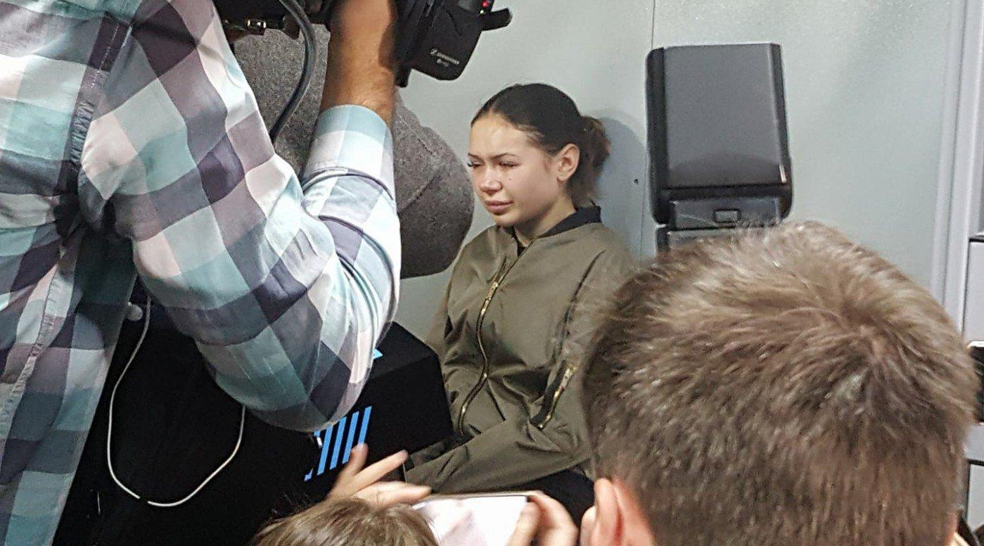 Харьковская студентка, сбившая насмерть шесть человек, признала вину ипопросила извинения
