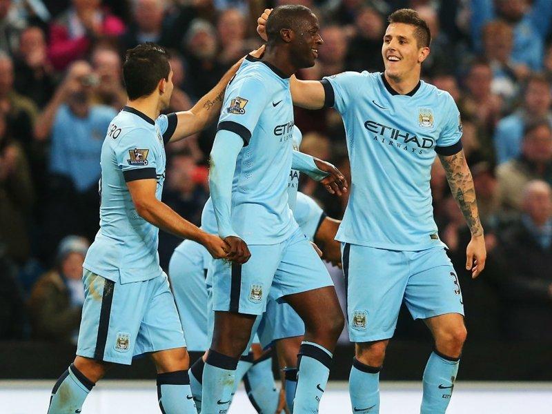 «Манчестер Сити» с большим счетом переиграл «Суонси» вчемпионате Британии