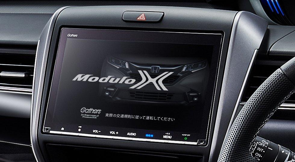Для Хонда Freed доступен тюнинг-пакет Modulo X