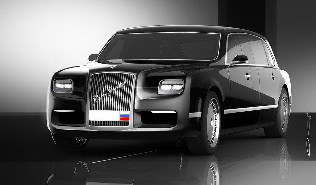 Автомобиль «как у русского президента» все желающие смогут приобрести в 2019г