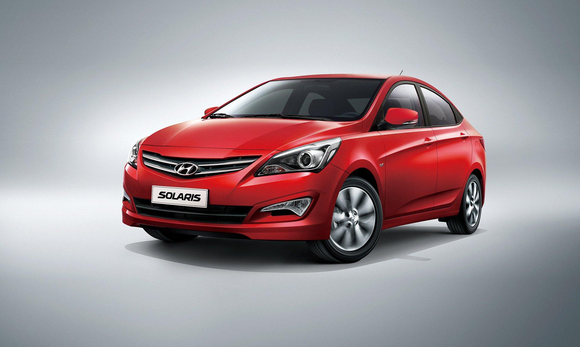 Седан Хюндай Solaris вИндии назвали автомобилем года