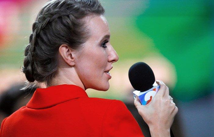 Собчак: Путин дал мне слово напресс-конференции из-за красного платья