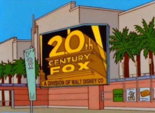 Симпсоны предсказали объединение Disney и Fox еще 20 лет назад