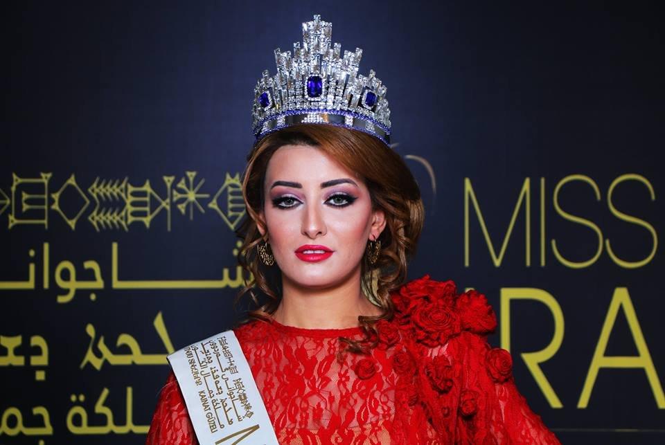 Мисс Ирак после селфи смисс Израиль была вынуждена бежать изстраны