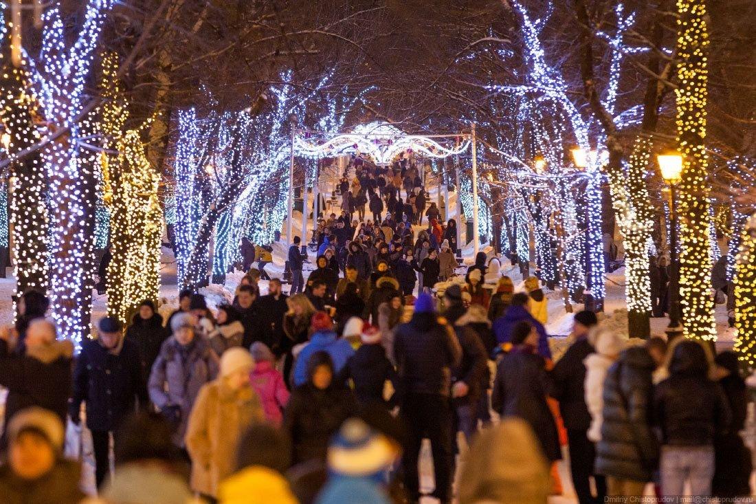 Сергей Собянин проинформировал озапуске праздничной подсветки в столице