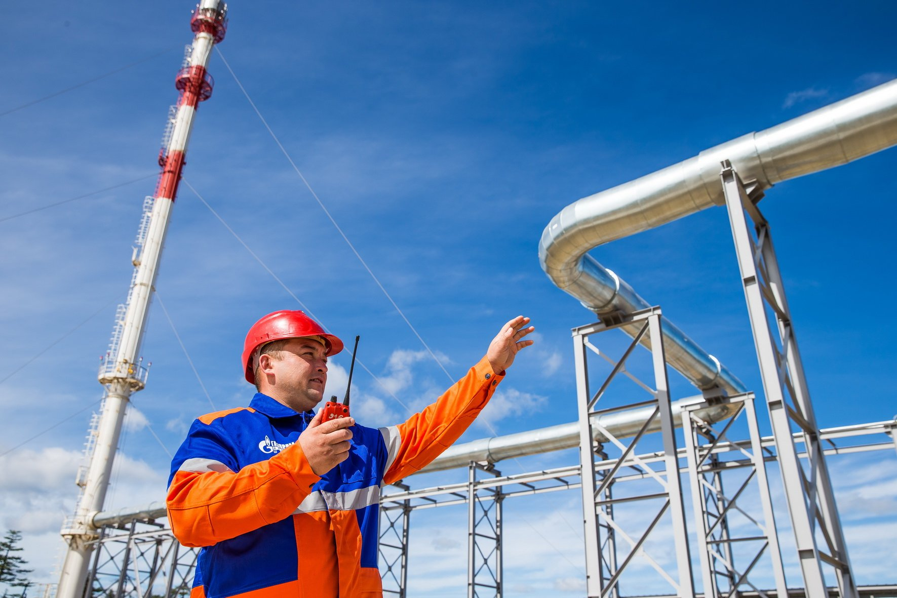 «Газпром» за11,5 месяца увеличил добычу иэкспорт газа