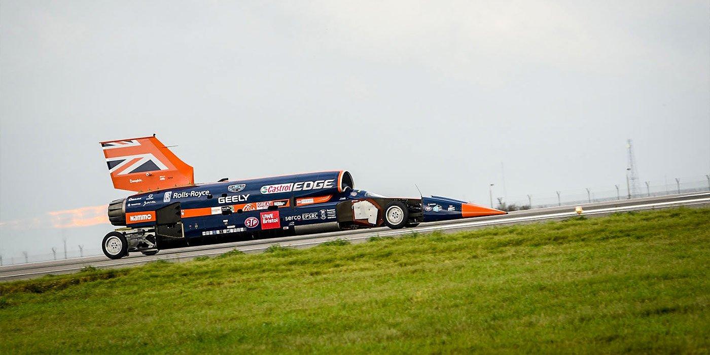 Болид Bloodhound Supersonic Car разгонится до800 км/ч