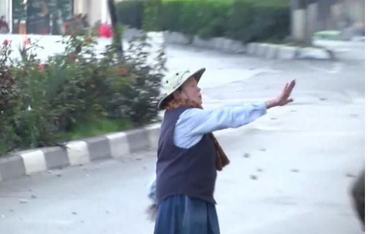 Бабушка встала между враждующими израильтянами ипалестинцами, прекратив стычку