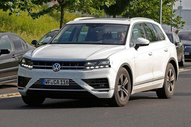Новый VW Touareg представят весной 2016-го года в КНР