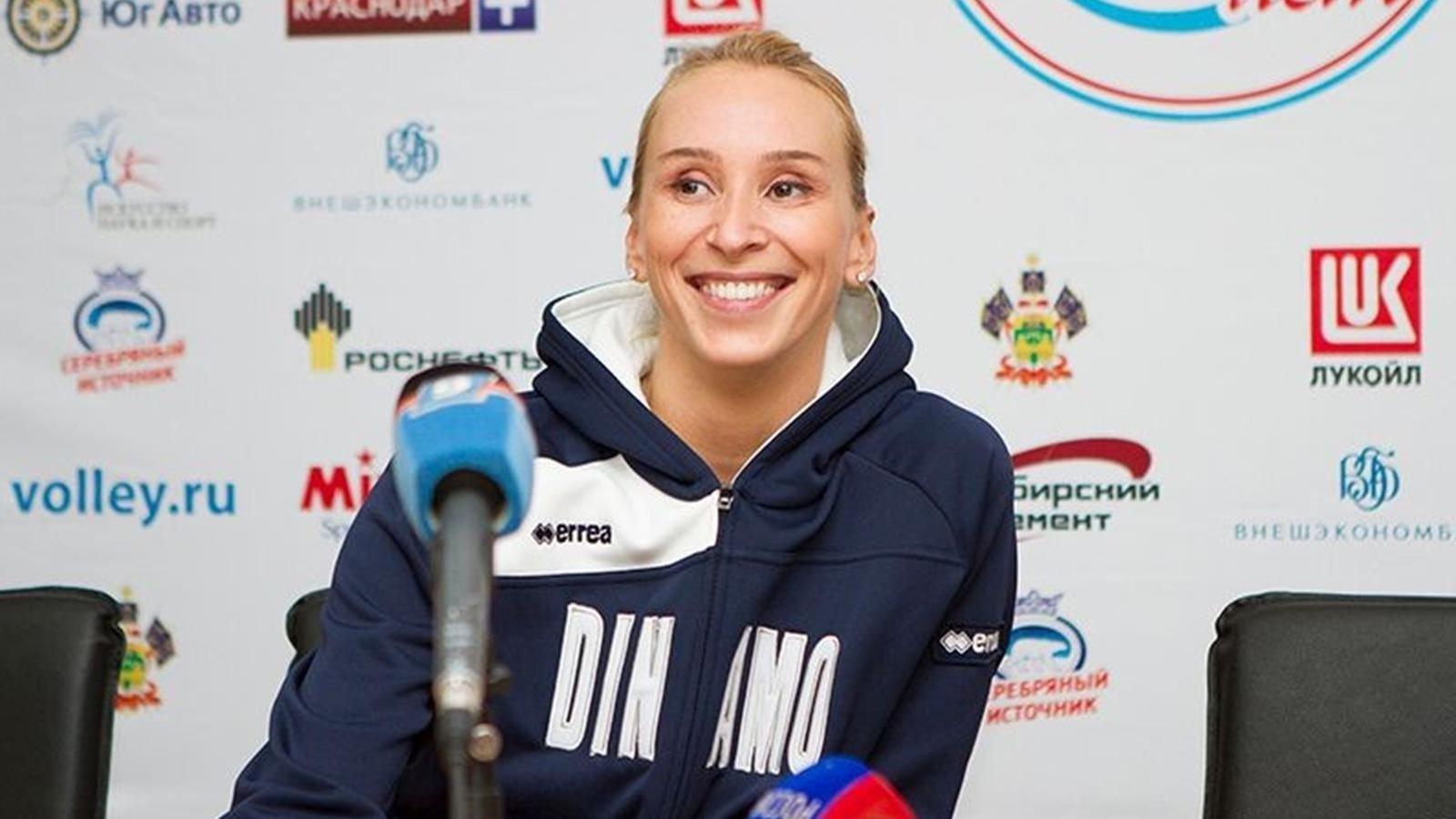 Волейболистка Любовь Соколова вернулась в«Динамо Краснодар»