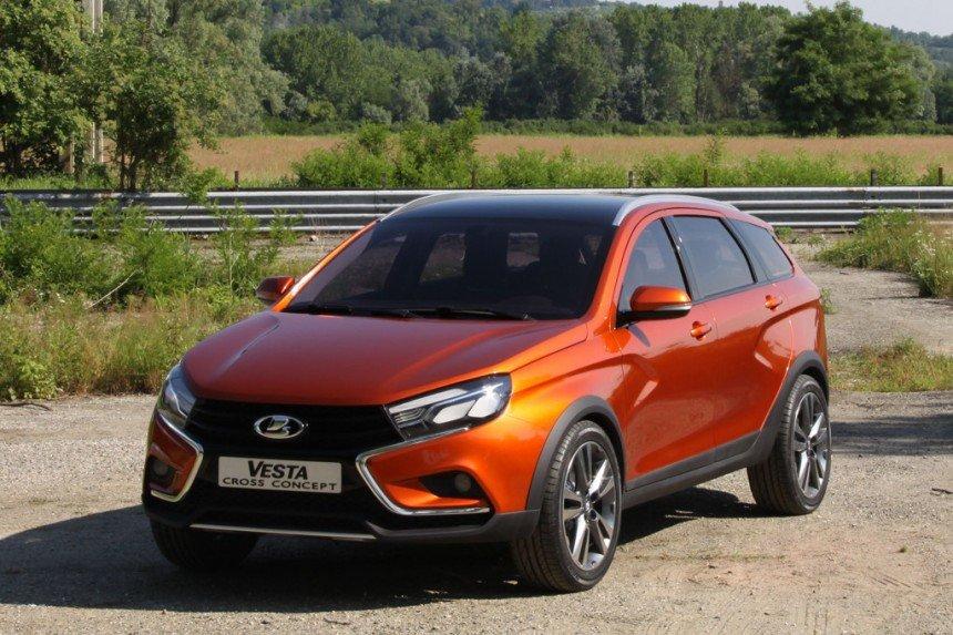 АвтоВАЗ продал в ноябре 1,9 тысячи LADA Vesta SW и LADA SW Cross