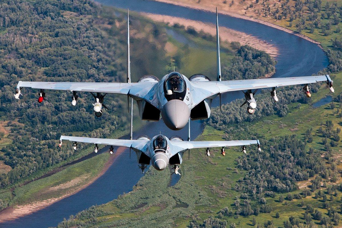 3-я партия наготове: РФ поставила в КНР десять истребителей Су-35