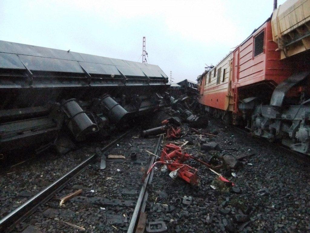 Неменее десятка человек пострадали в итоге столкновения 2-х поездов вВене